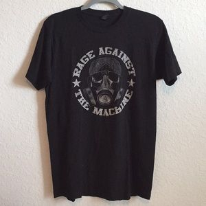 Rage Against the Machine Graphic Band Tee Shirt